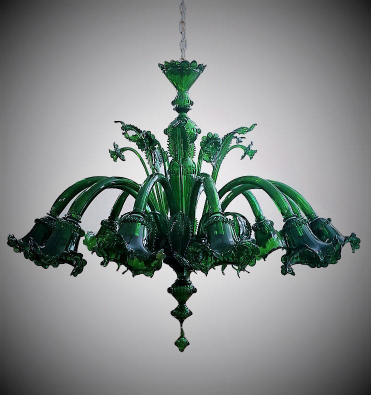 Lampadario Rialto Green